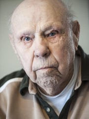 Ted Garnett, 94, spent the Christmas of 1943 preparing for an island-by-island attack on Japanese-held territory.