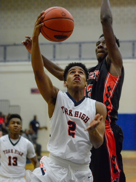 PHOTOS: Northeastern vs York High boy's basketball