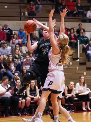 Junior Rachel McLimore is Covenant Christian's leading scorer.