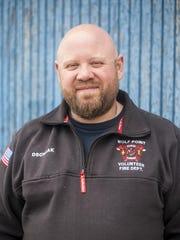 Chris Dschaak, Wolf Point's mayor.