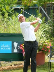 Kevin Southerland finished Friday's first round at 5 under par.