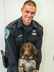 Wayne State University provided this photo of university police officer Collin Rose, who was shot in the head while on patrol near a university campus in Detroit on Tuesday, Nov. 22, 2016. Rose was a five-year veteran of the department who worked in the canine unit.