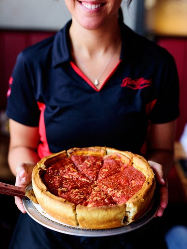 Giordano's | This Chicago-born, stuffed-crust, deep-dish