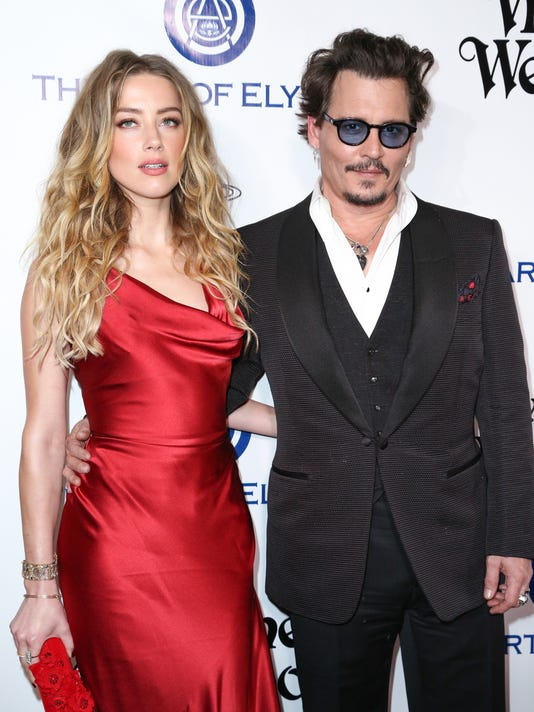 AP JOHNNY DEPP-DIVORCE A FILE ENT USA CA