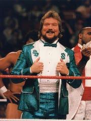 """Million Dollar Man"" Ted DiBiase in his wrestling heyday"