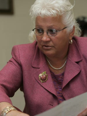 Eastside High School Principal Karen Johnson in 2010.