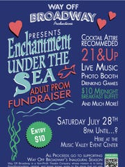 """Enchantment Under the Sea"" Adult Prom Fundraiser at"