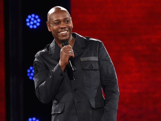 Dave Chappelle performing at the Hollywood Palladium
