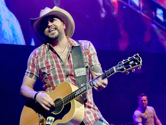Jason Aldean has been nominated again for Entertainer