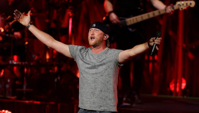 Cole Swindell opens for Dierks Bentley at Summerfest's American Family Insurance Amphitheater July 7.