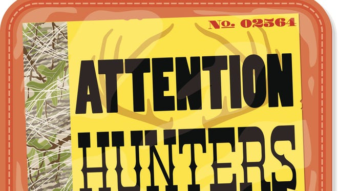 Hunting licenses go on sale in New York on Monday.