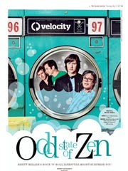 """Odd State of Zen."" Velocity cover on Thursday, May"