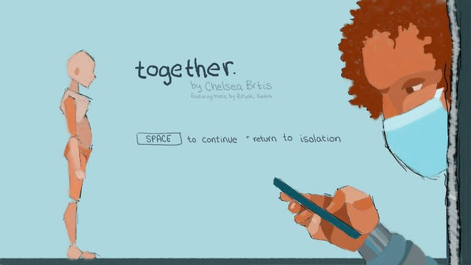 """Together"" is a game that shows how the pandemic can mean very different things to different people."