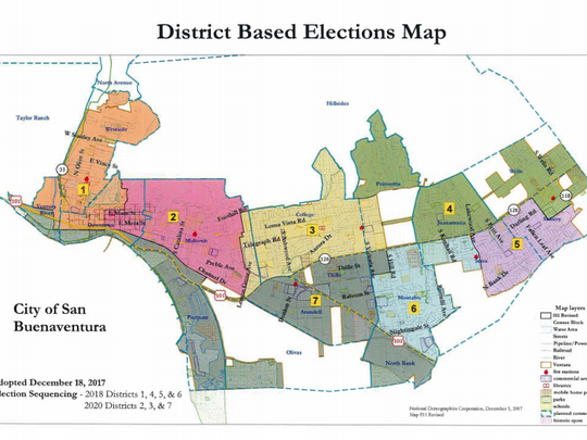 On Nov. 6, Ventura voters will for the first time cast a ballot for only the district in which they live.