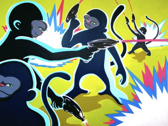 Monkeys lede art