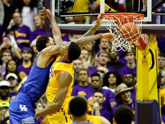 NCAA Basketball: Kentucky at Louisiana State