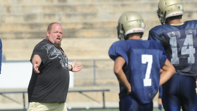 Andy Morgan is the new football coach at McDowell.