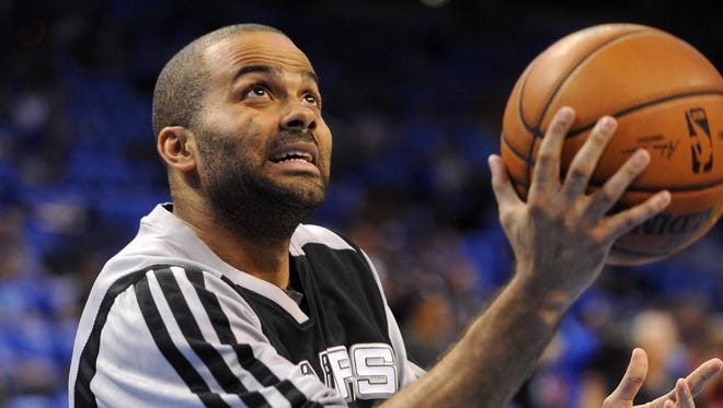 San Antonio Spurs point guard Tony Parker is averaging 17.2 points and 4.9 assists per game in the playoffs.
