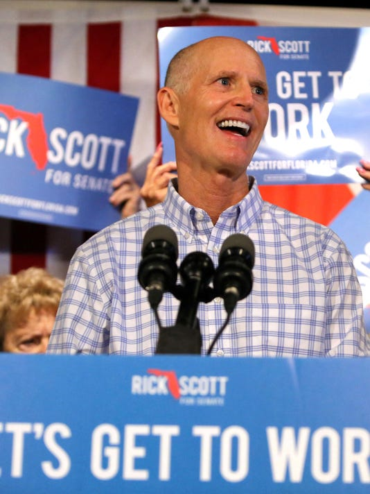Final recount gives US Senate seat to Florida Gov. Rick Scott