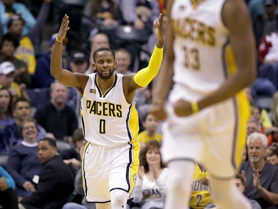 Indiana Pacers wing C.J. Miles was a reliable shooter