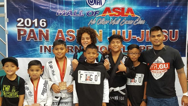 The kids from the go'/Bonsai Jiu Jitsu took third place in the Pan Asian International Open in the Philippines.