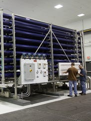 Cape Coral, Fla., has a reverse osmosis facility on