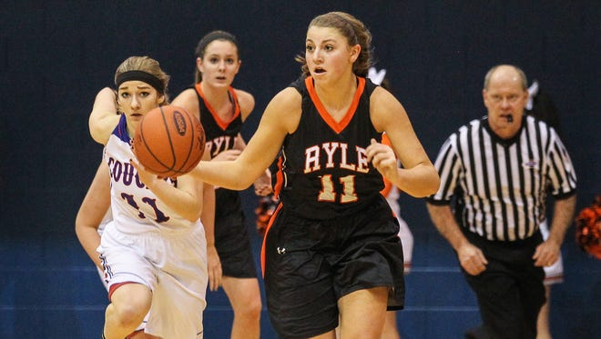 Ryle's Mallory Schwartz scored 12 points in a 53-46 win over Boone County Friday.