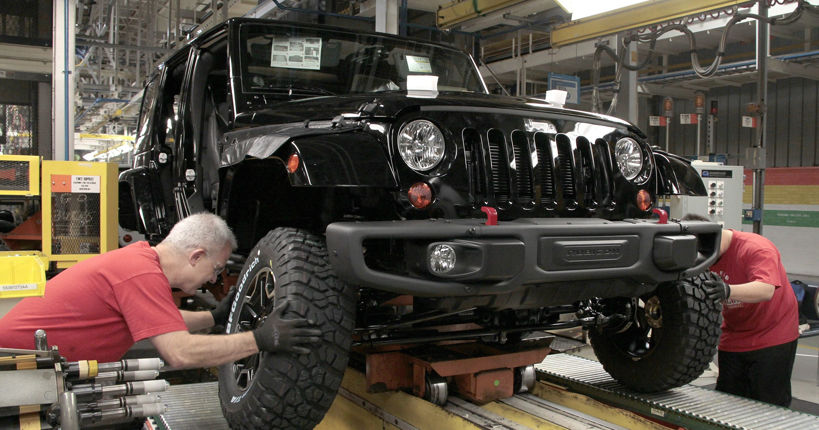 Toledo Hopes Incentives Will Keep Jeep Wrangler In Its Historical Home Outline