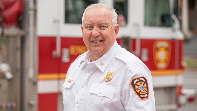Guy VanBenschoten is retiring after 41 years with the Ithaca Fire Department.