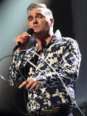 British singer-songwriter Morrissey will end his upcoming world tour with a concert at the Abraham Chavez Theatre on Nov. 23.