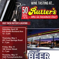 Wine pairings at Rutter's? Here's what you need to know