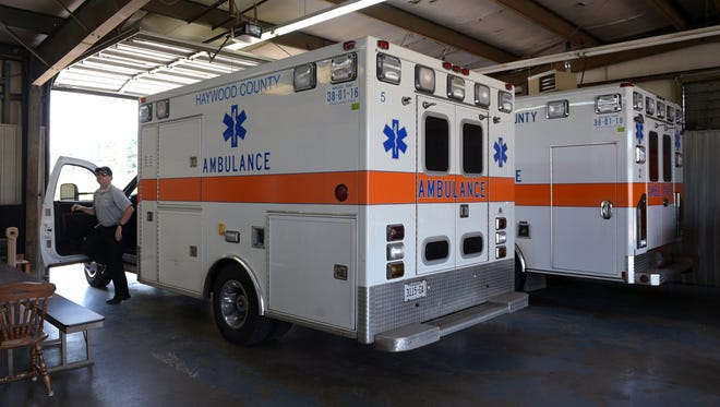 The ambulance fleet in Haywood County, Tenn., has evolved into a fleet of mobile clinics. The EMS teams average about 15 calls a day, up from the number it made before the county's hospital closed.