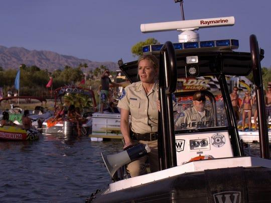Lake Havasu was real, the piranhas were not, in Elisabeth