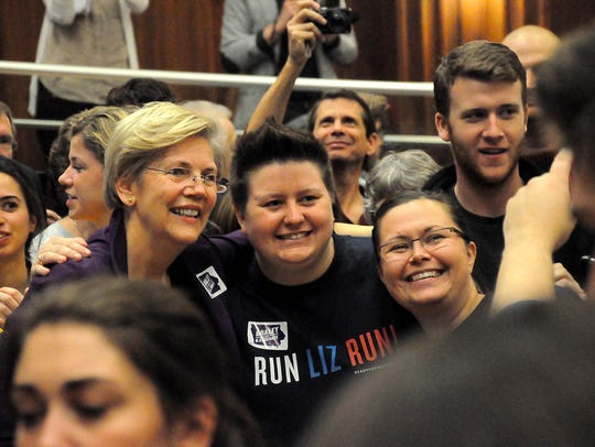 Senator Elizabeth Warren rallies Iowa this weekend