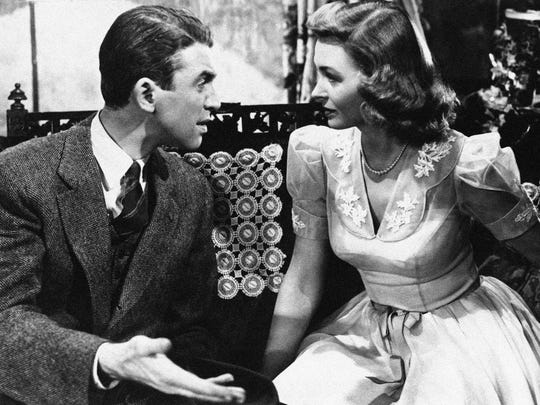 Jimmy Stewart and Donna Reed star in Frank Capra's
