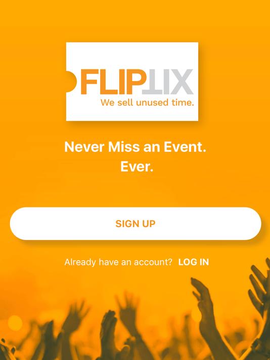 FlipTix app cover