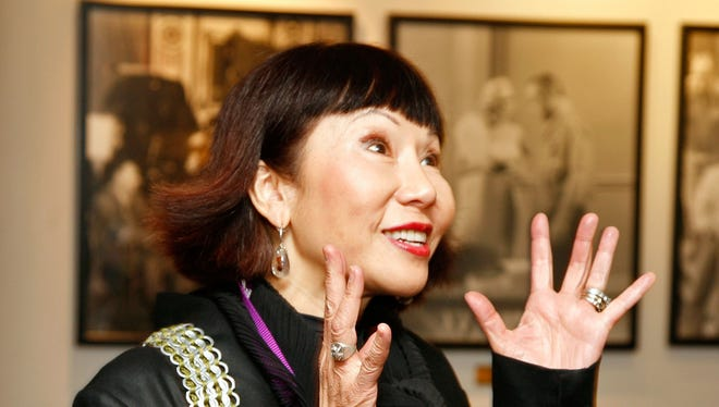 "Author Amy Tan attends the ""Behind the Screens: Under Our Skin"" panel discussion held at the DGA during the 2008 Tribeca Film Festival."