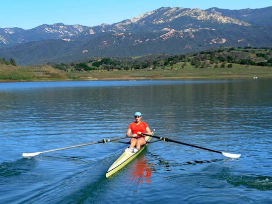 Lake Casitas near Ojai offers a wealth of recreational activities.