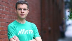Max Levchin, one of the founders of PayPal, is speaking
