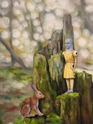 """""""What She Seeks in the Woods"""" by Kendra Bulgrin of"""
