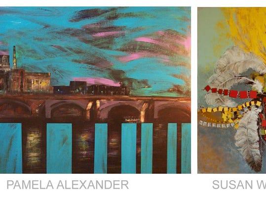 Pamela Alexander and Susan Warner