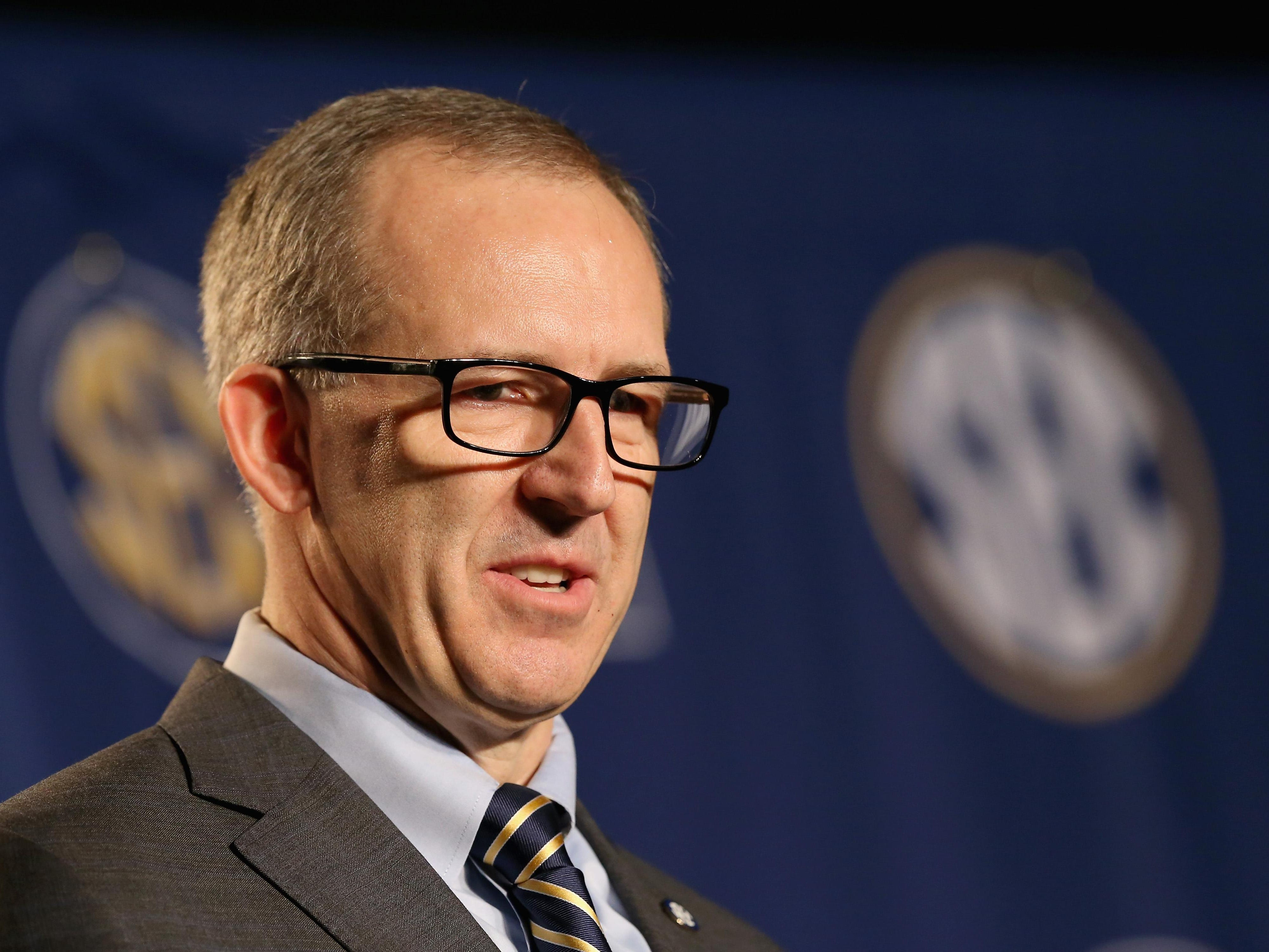 Greg Sankey the new commissioner of the SEC, is against the new recruiting period that has been proposed.