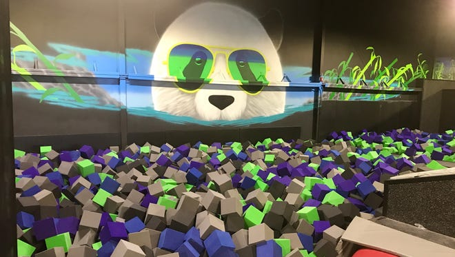 Flying Panda is more than just a trampoline park.