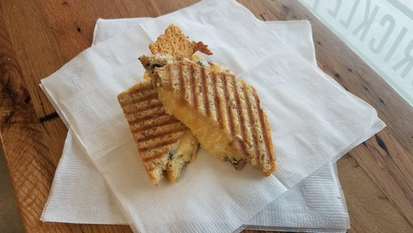 Stensland Ice Cream Shops's new Grilled Cheese Panini