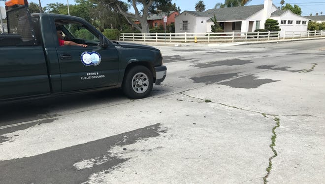 Oxnard is planning to spend $31 million in the next 18 months to fix the city's streets.