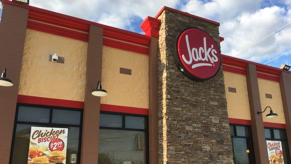 Jack's opened its third Montgomery location Wednesday