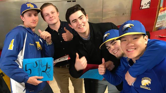 Autism Awareness Baseball Challenge reception at Edison High School