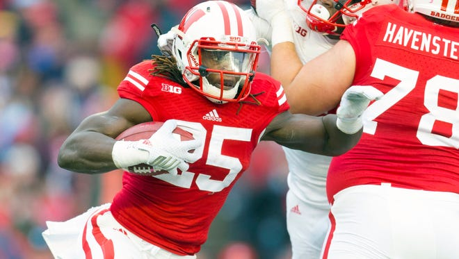 Wisconsin RB Melvin Gordon finished second in the Heisman balloting in 2014.