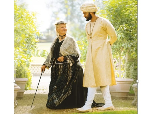 """Join the Asheville Movie Guys for a movie screening of """"Victoria & Abdul"""" at the Fine Arts Theatre, October 16 at 7pm"""