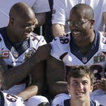 DeMarcus Ware (94) had a profound impact on the development of Von Miller. (58), who MVP honors in Super Bowl 50.